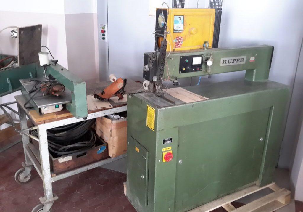 Stroj za spajanje furnirja KUPER 3x (1)